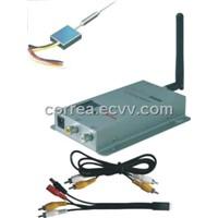 2.4GHz 100mW wireless audio video transmitter
