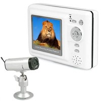 2.4ghz Baby Wireless Monitor with 2.5 Inch LCD Receiver