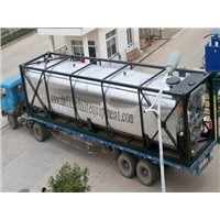 40ft asphalt tank container