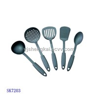 5pcs Nylon Kitchen Set in PP Handle