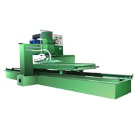Artificial quartz stone thicknessing machine