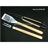 Bamboo Handle BBQ Tool (HYB-307)