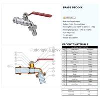 Brass bibcock 11001