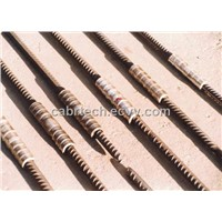 Cold Forged Sleeve Splice - Ribbed Rebar