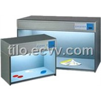 Color viewing booth color light box