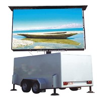Convenient and Flexible LED Screen Truck