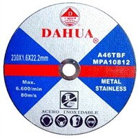 Cutting Wheels, Metal Cut-off Disc