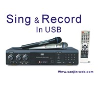 DVD / DIVX Karaoke Player Recorder (DVP-10)