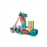 Double-colour Striped Film Blowing Machine