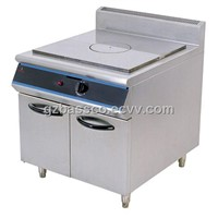French Hot-Plate Range with Cabinet
