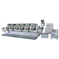 Fully-Automatic over Print Intermittent High-Speed Label Printing Machine