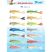 Higher-Quality Soft Plastic Fishing Lures worm baits grub baits lures
