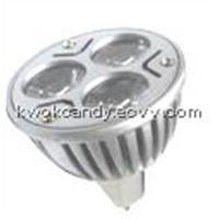 LED Spotlight (HK-MR16-3*1W-A)
