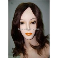 Mono Top Ladies Human Wig