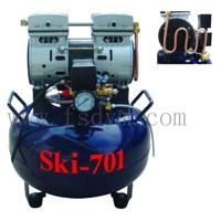 Oiless Air Compressor for Dental