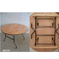 Plywood Folding Table (US-221)