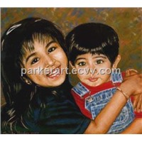 Portrait Oil Painting (XX0007)
