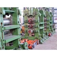 Rebar angle rolling mill