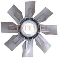 Steel-Aluminum Fan