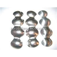 Ttitanium knuckle for skiing glove,titanium knuckle for motorcycle glove ,metal knuckle protector