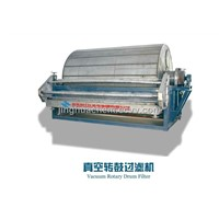 Vacuum Rotary Drum Filter Press