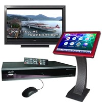 Karaoke System with Hard Drive And Touchscreen
