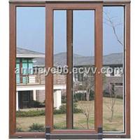 aluminum clad wood door