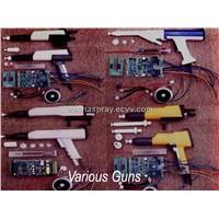 parts of powder coating guns