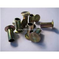 Steel material zinc plated Semi-tubular brake rivets 8x18mm
