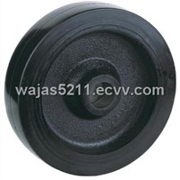 Rubber Wheels with Cast Iron Centre (RC100-RC300)