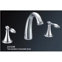 Two Handles 3-Hole Bath Mixer (HY231235)