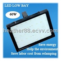 60W LED High Output Industrial Grade Low Bay Lights (ZGSM-LGCD60WB)
