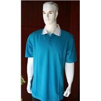 Blue Polo Shirts of Original Bamboo Fibers(NC-409)