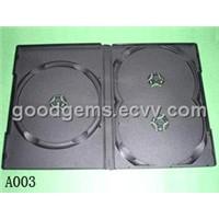 PP Black 3 Discs DVD Case (A003)