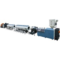 HDPE Large Diameter Heat Reservation Pipe Extrusion line