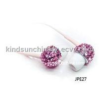 Jeweled Earphone