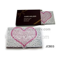 Jeweled Name Card Case (JCB03)