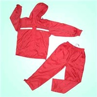 Nylon Sportswear with PU Backing & Tafetta Lining