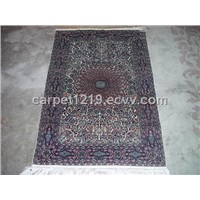 Silk And Woolen Interweaving Carpet
