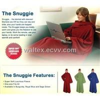 Snuggle Blanket With Sleeve - TV Blanket