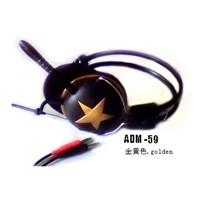 Telephone Headset Headset Phones Computer Headset (ADM-59)
