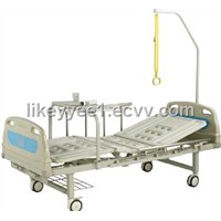 Two Crank Manually Hospital Bed