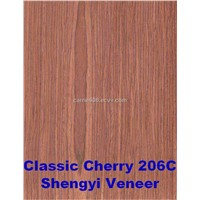reconstituted engineered wood veneer Classic Cherry 206c