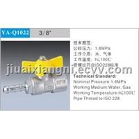 brass gas ball valve