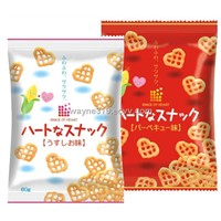 Heart Shape Corn Chips