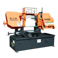 FS4228 Double Column Semi-automatic Band Sawing Machine