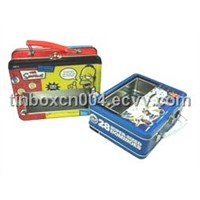 Handle Tin for Lunch & Gift Packaging