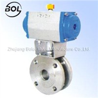 Italy-type thin ball valve
