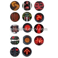 LED Solar Sharp-Turn Warning Light