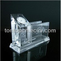 Namecard Holder 3D Laser Decorative Crystal